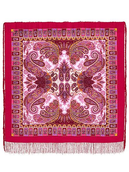 Шерстяной Павлопосадский платок