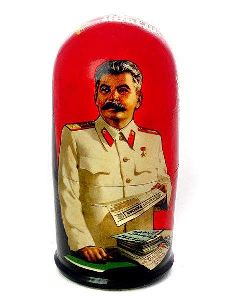 """Набор матрешек """"Сталин"""", арт. 5011 Тульские самовары"""