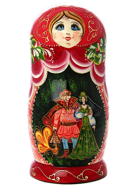 Набор матрешек Русские сказки, серия Сказки, арт. 726Набор из 7 штук.&#13;<br>Высота - 20 см.<br>