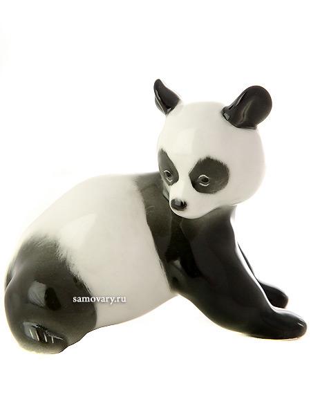 """Скульптура """"Медвежонок панда"""", Императорский фарфоровый завод Тульские самовары"""