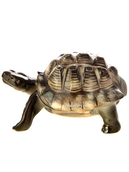 Скульптура Черепаха светлый панцирь, Императорский фарфоровый заводФарфоровая сувенирная фигурка животного.<br>