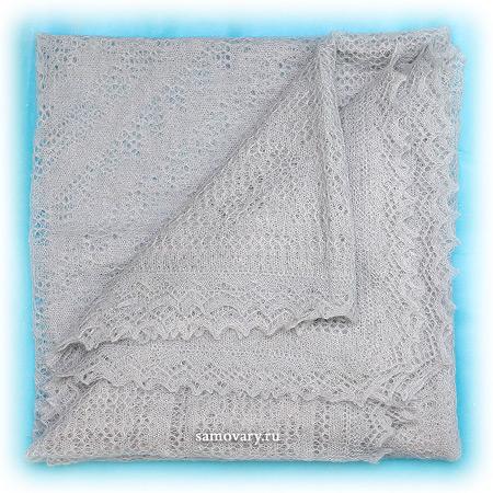 Оренбургский пуховый платок, паутинка газовая, арт. 1С315 (А150-04)