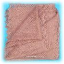 Пуховый оренбургский платок, паутинка Магнолия, арт. А 100-06Ажурный платок.&#13;<br>Размер - 100х100 см.&#13;<br>Состав: пух козий – 78%, вискоза – 22%.<br>