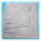 Оренбургский пуховый платок, паутинка серая, арт. А 150-03Ажурный платок (паутинка),&#13;<br>цвет - серый.&#13;<br>Размер - 150х150 см.&#13;<br>Состав: пух козий – 78%, вискоза – 22%.<br>