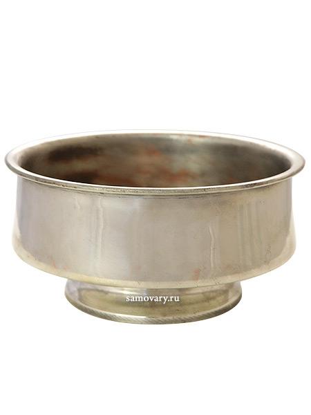 Латунная капельница для самовара с никелированным покрытием, произведена въ Тулъ в конце ХIХ века, 2127