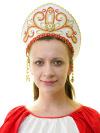 Кокошник ДевичийСимвол традиционного русского костюма.<br>