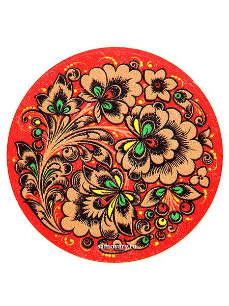 """Сувенирный магнит """"Хохлома"""", арт.16252500000 Тульские самовары"""