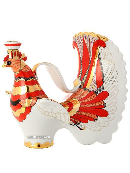 Графин фарфоровый форма Жар-птица, рисунок Жар-птица, Императорский фарфоровый заводПодарочный фарфоровый графин.<br>Объем - 800 мл.<br>
