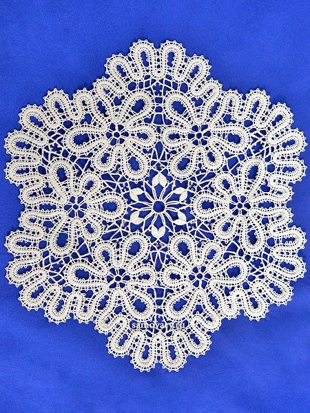 Вологодское кружево - салфетка с Вологодским кружевом, арт. 6нхп-241