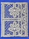 Обложка на книгу «Органайзер», Вологодское кружево, арт. 3-09Кружевная обложка на книгу.&#13;<br>Размер в сложенном виде - 17*21 см.<br>