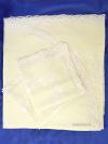 Комплект столового белья кремовый Вологодское кружево - лен с вышивкой Вологодским кружевом, арт. 0нхп-523Комплект столового белья с Вологодским кружевом - скатерть и 6 салфеток.&#13;<br>Размер скатерти - 250*150 см.&#13;<br>Салфетки (6 шт) - 40*40 см.<br>