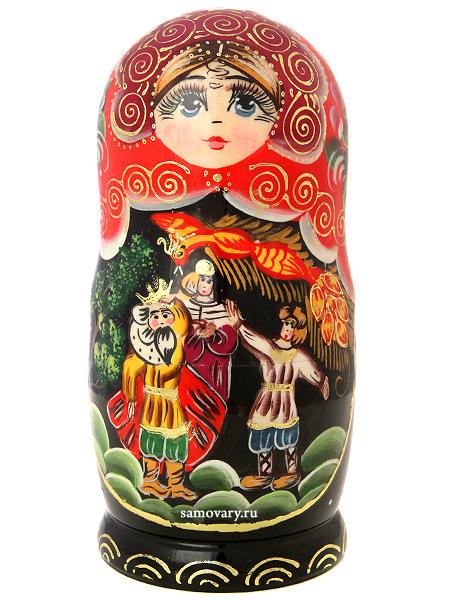 """Набор матрешек """"Жар-птица"""", серия """"Сказки"""", арт. 7564 Тульские самовары"""