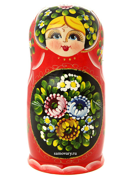 Набор матрешек Цветы, арт. 516Набор из 5 штук.&#13;<br>Высота - 15-17 см.<br>