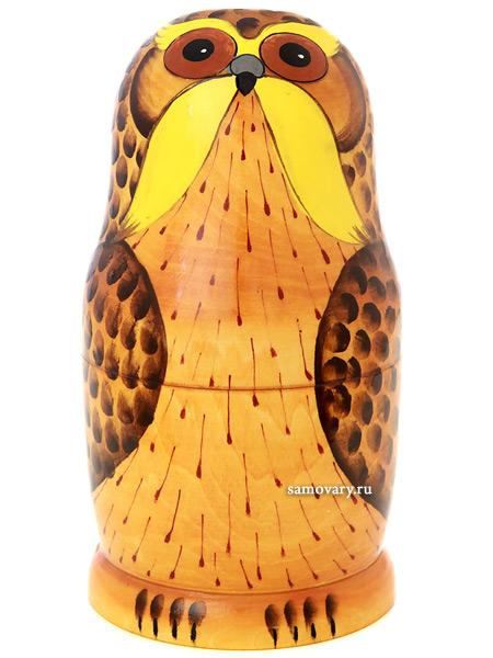 Набор матрешек Филин, серия Животные, арт. 570фНабор из 5 штук.&#13;<br>Высота - 16,5 см.<br>