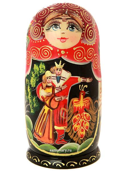 Набор матрешек Жар-Птица, серия Сказки, арт. 523Набор из 5 штук.&#13;<br>Высота - 16,5 см.<br>