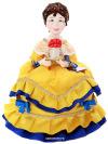 Кукла на чайник Марфа, арт. 47Кукла тряпичная декоративная на заварочный чайник.<br>
