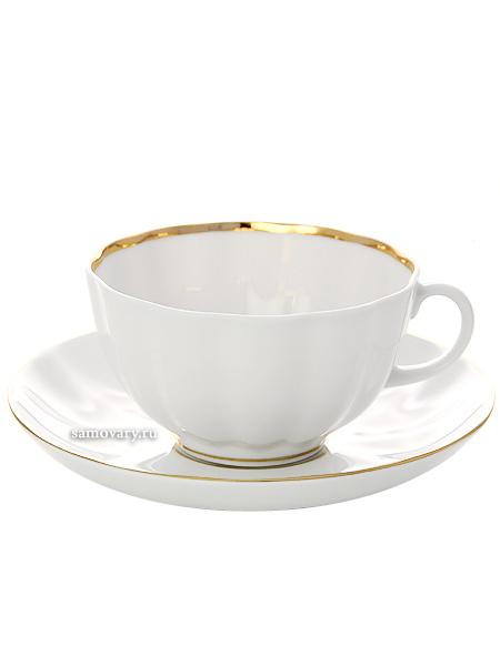 Сервиз чайный на 6 персон форма Тюльпан, рисунок Белоснежка 6/20, Императорский фарфоровый заводСервиз чайный из 20 предметов: 6 чайных пар, чайник заварочный, сахарница и 6 десертных тарелок.<br>