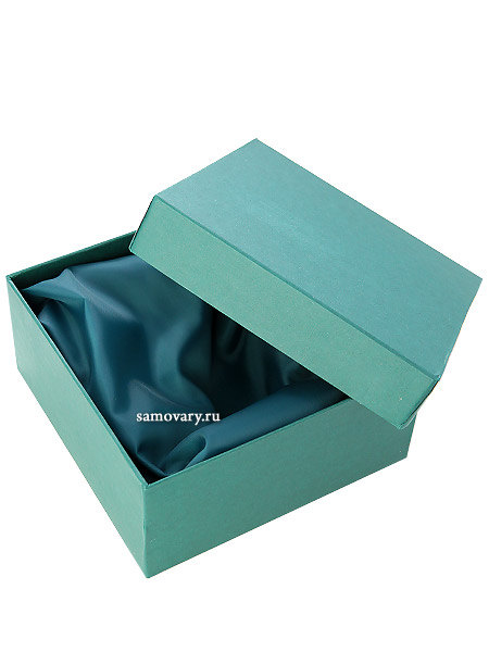 Подарочный футляр для подстаканника и ложкиПодарочная коробка для подстаканника, стакана и чайной ложечки.<br>