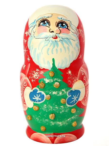 """Набор матрешек """"Дед Мороз"""", арт. 503 Тульские самовары"""