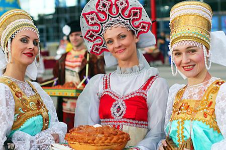Русский народные костюмы