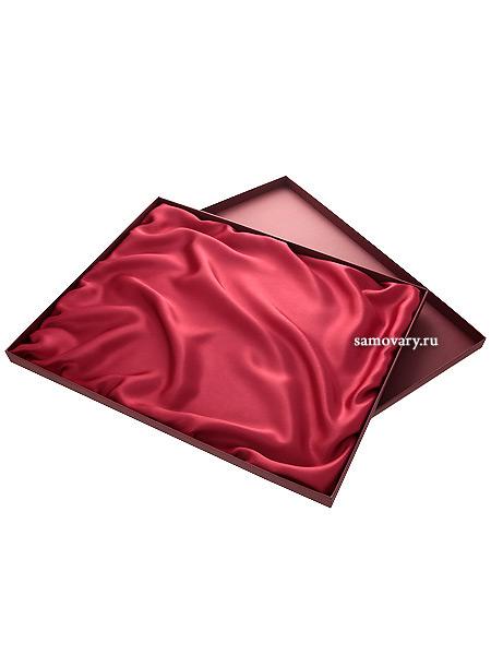 Подарочная упаковка для подноса Жостово бордоваяПодарочная коробка для жостовского подноса.<br>Размер коробки - 40*50 см.<br>