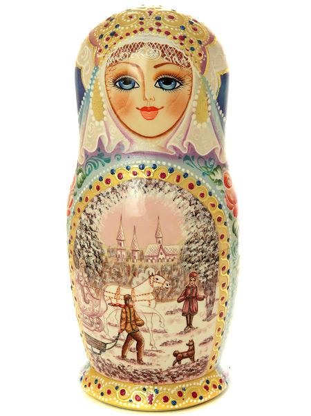 "Набор матрешек ""Снежная королева"", арт. 779э Сергиев Посад"