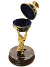 Подарочный сувенир Титан статуэтка, подсвечник, шкатулка в подарочной коробке, ЗлатоустСувенир три в одном: шкатулка, статуэтка, подсвечник.&#13;<br>Упакован в стильную дизайнерскую коробку.&#13;<br>Ручная работа.<br>