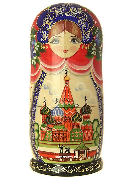 Набор матрешек Москва, арт. 1704Набор из 10 штук.<br>Высота - 20 см.<br>