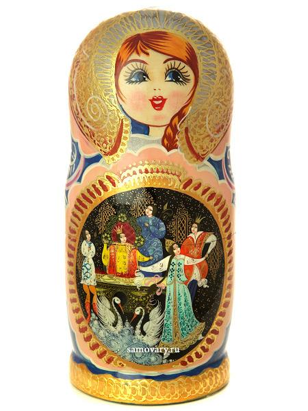 Набор матрешек Сказка о царе Салтане люкс, арт. 783гНабор из 7 штук. &#13;<br>Высота - 20 см.<br>
