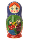 Набор матрешек Традиционная, 5 штук, арт. 5708Набор из 5 штук.&#13;<br>Высота - 16 см.<br>