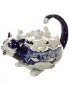 Чайник заварочный Гжель Коты автор С.ЧерновЧайник керамический с ручной росписью.<br>