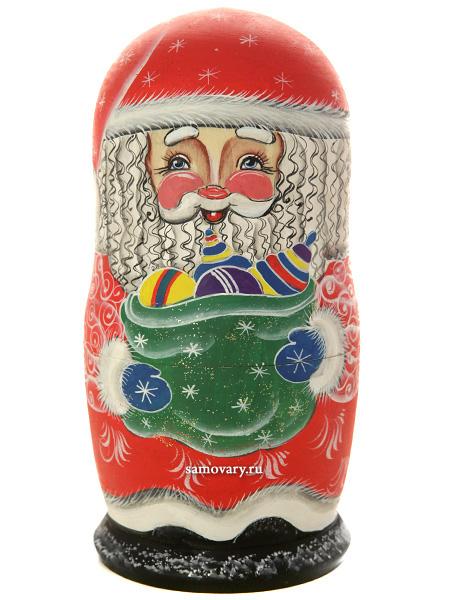 Набор матрешек Дед Мороз, арт. 504Набор из 5 штук.<br>Высота - 16 см.<br>