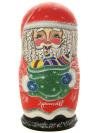Набор матрешек Дед Мороз, арт. 504Набор из 5 штук.&#13;<br>Высота - 16 см.<br>