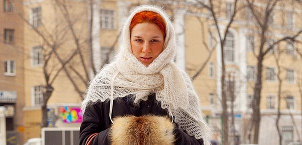 Оренбургские платки