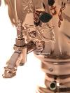 Набор самовар электрический 3 литра медный желудь с автоотключением, арт. 140306к