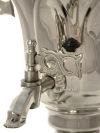 Тульский электрический самовар 1,5 литра никелированный тюльпан, арт.130208