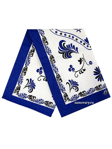 Полотенце Петух, синее без кружева, 45х75, АртельРазмер полотенца - 45*75 см. <br>Хлопок 100%. 1 Сорт.<br>