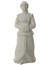 Скульптура Снегурка, рисунок Белый, Императорский фарфоровый заводФарфоровая сувенирная фигурка из серии Новогодние подарки.<br>