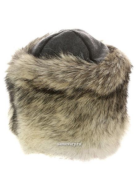 Папаха из меха волкаГоловной убор из натурального меха волка.&#13;<br>Размеры от 57 до 60.<br>
