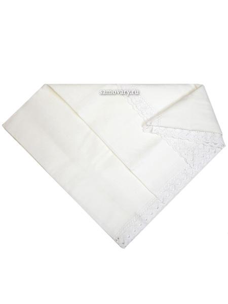 Скатерть белая жаккардовая, 160х150Размер скатерти 160*150 см. &#13;<br>Материал - жаккард.<br>