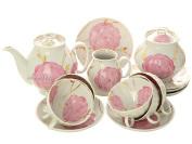 Дулевский чайный сервиз форма Белый Лебедь рисунок Весенний 6/15Сервиз из фарфора.&#13;<br>6 персон.<br>