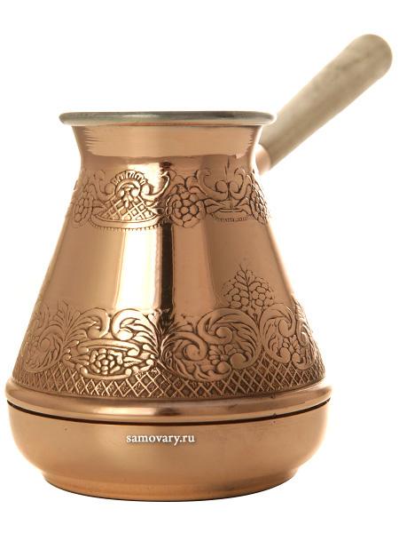 Турка для кофе медная КольчугиноТурка из меди.&#13;<br>Объем - 300 мл.<br>