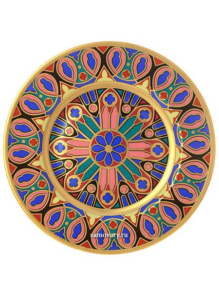 Подарочный набор форма Mazarin, рисунок ГотическаяПодарочная тарелка в фирменном футляре.<br>
