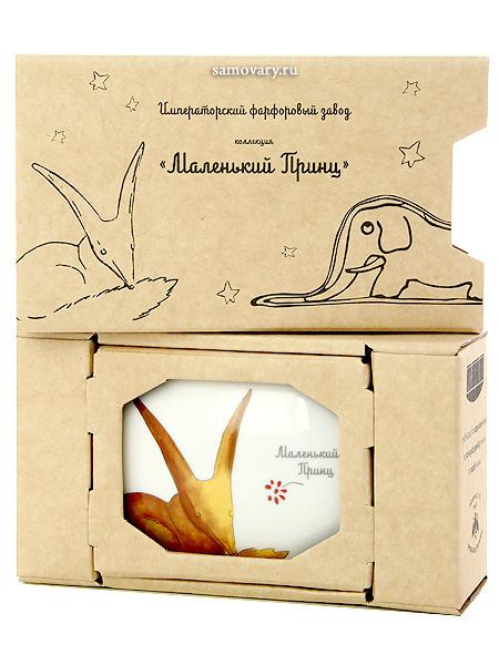 Подарочный набор: туалетная коробочка из фарфора Лис, форма Граненая, Императорский фарфоровый заводТуалетная коробочка фарфоровая.<br>