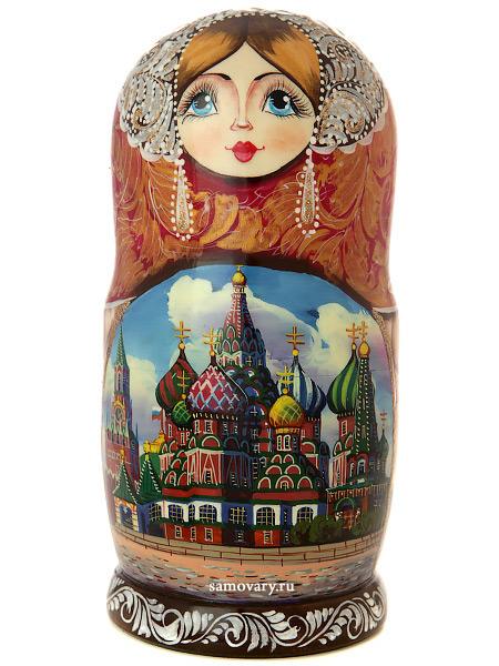 Набор матрешек Москва златоглавая, арт. 71эНабор матрешек из 7 штук.<br>Высота - 20 см.<br>
