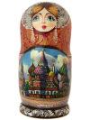 Набор матрешек Москва златоглавая, арт. 71эНабор матрешек из 7 штук.&#13;<br>Высота - 20 см.<br>