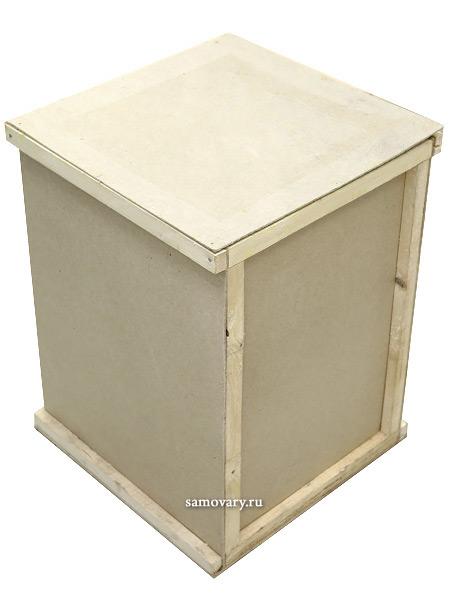 Деревянная коробка для упаковки габаритных товаровДеревянная обрешетка для упаковки и транспортировки<br>Размеры 90*90*70 см.<br>
