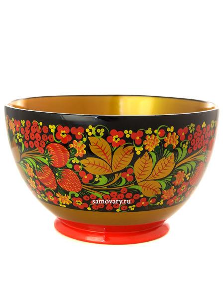Чашка хохлома Клубника, 120х200 арт. 32790120200Деревянная чашка с хохломской росписью.<br>Размер - 120х200 мм.<br>
