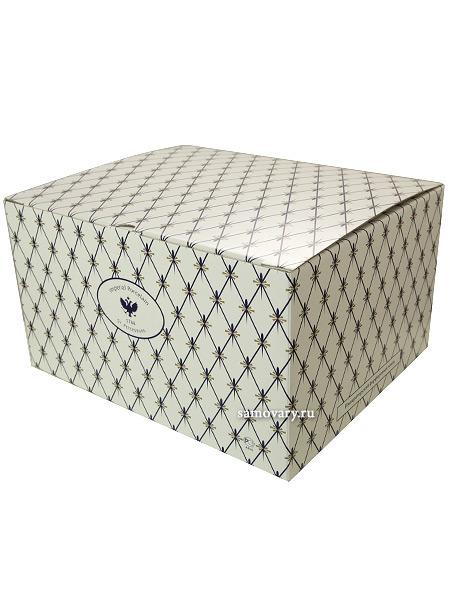 Подарочная упаковка для сервизов Императорского фарфораКартонная коробка.<br>