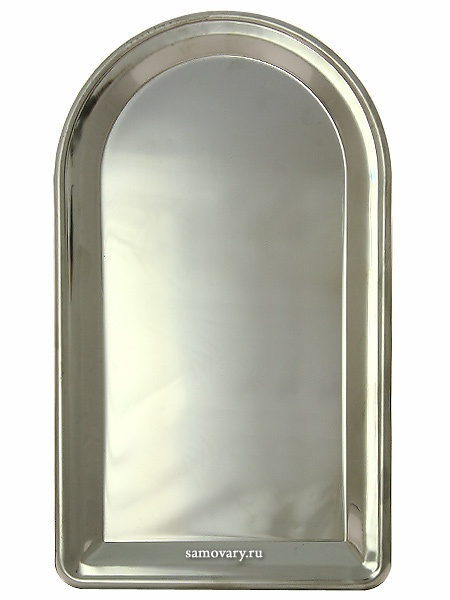 Поднос для самовара удлиненный из нержавеющей стали, Тула